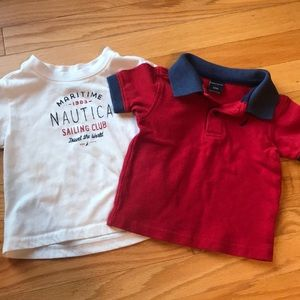Other - Nautica polo and t-shirt 18 months